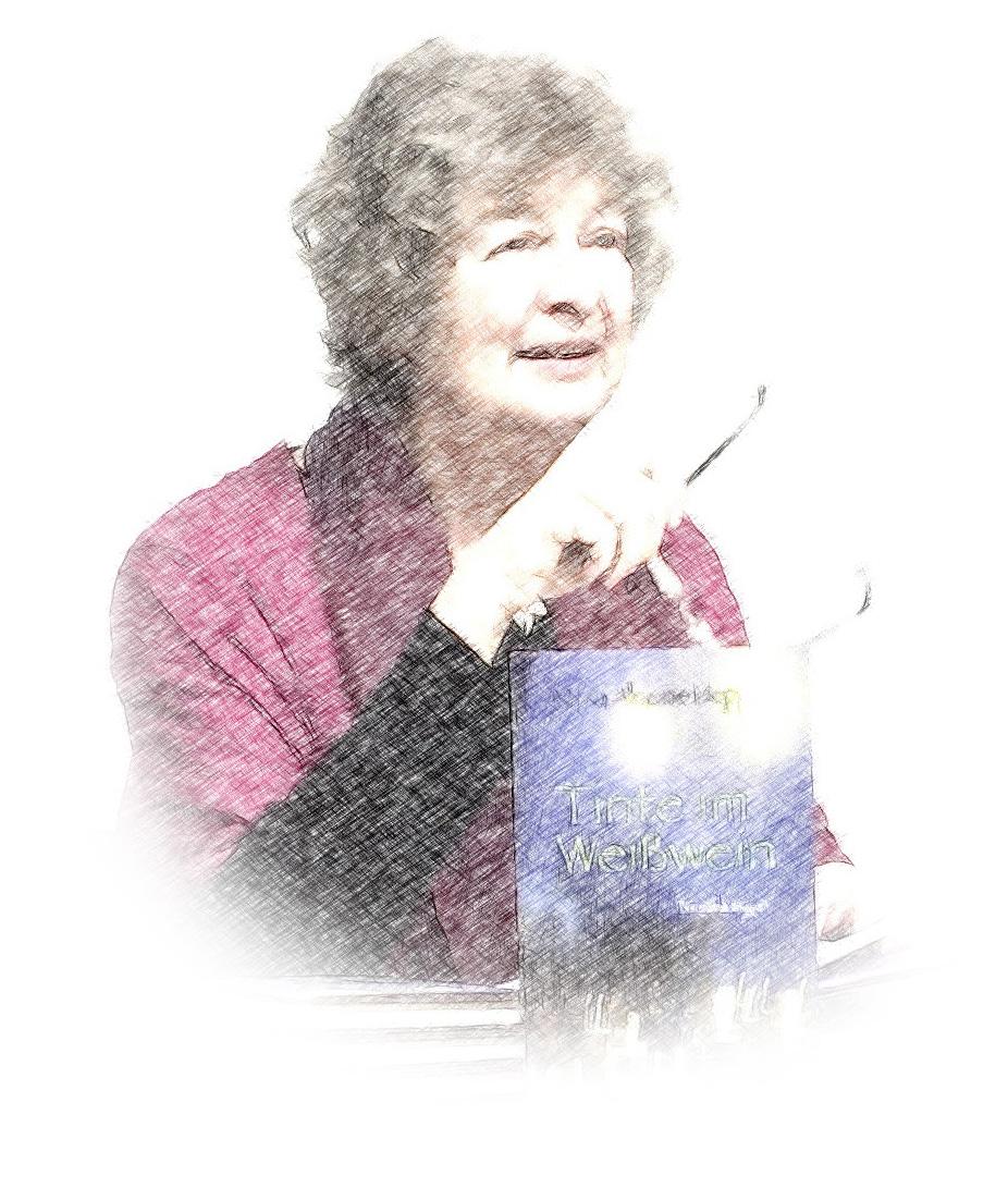 Maria Alraune Hoppe - Strichzeichnung